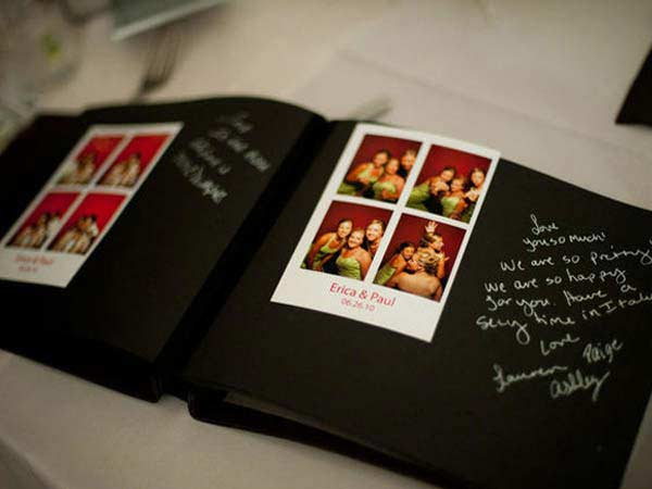 Guestbook - Cabine Photo